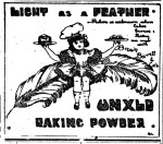 UNXLD baking powder – Poverty Bay Herald 18 February 1911 Page3